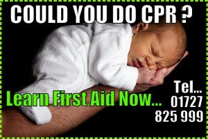 Learn baby CPR St.Albans