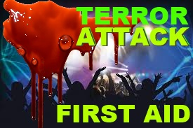 first aid after a terror attack