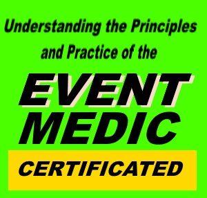Event Medic training course
