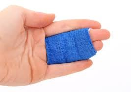 First aid finger splint